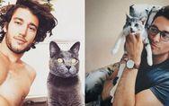 Der beste Instagram-Account aller Zeiten: Heiße Typen & ihre niedlichen Katz
