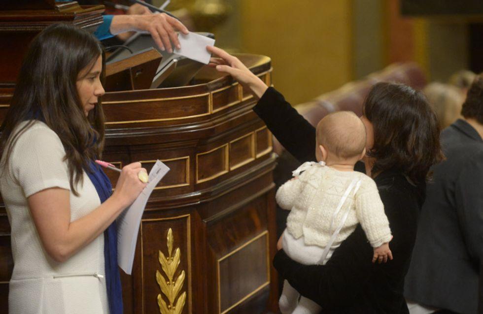 Los bebés también van al Congreso