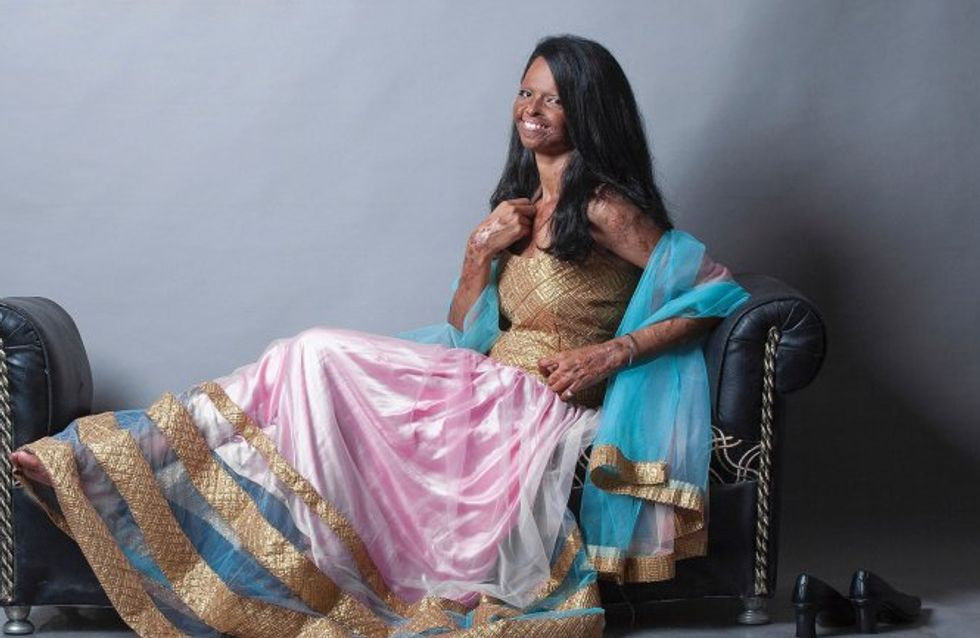 Laxmi Agarwal, víctima de un ataque con ácido, protagoniza una campaña de moda