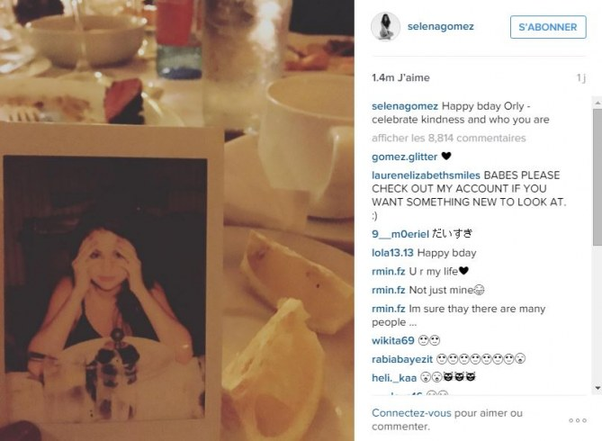 Le gentil message de Selena Gomez à Orlando Bloom
