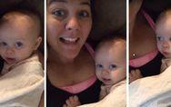 Craquant : Ce bébé chante I Love You pour imiter sa maman. On parie que vous n