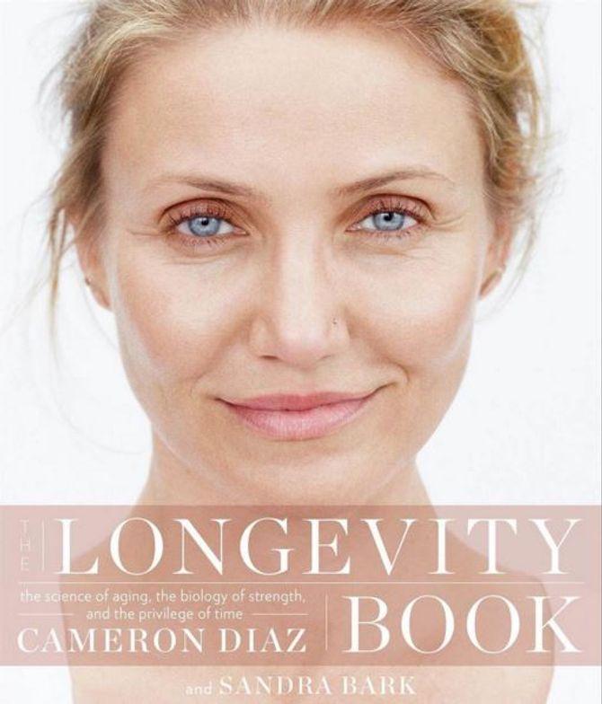 La couverture du Longevity Book de Cameron Diaz