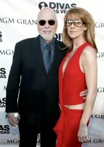 René Angélil et Céline Dion sur le tapis rouge