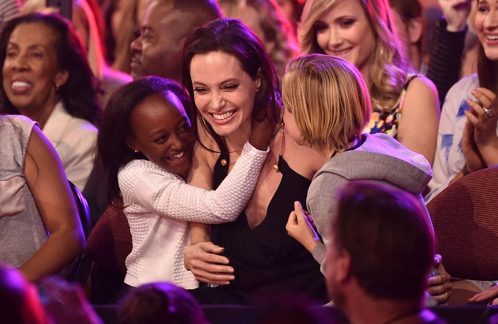 """Angelina Jolie : Ses enfants trouvent son travail """"trop facile"""""""