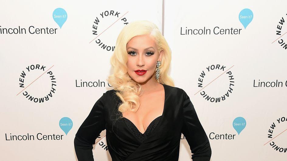 Soirée film parfaite pour Christina Aguilera et sa fille Summer (Photo)