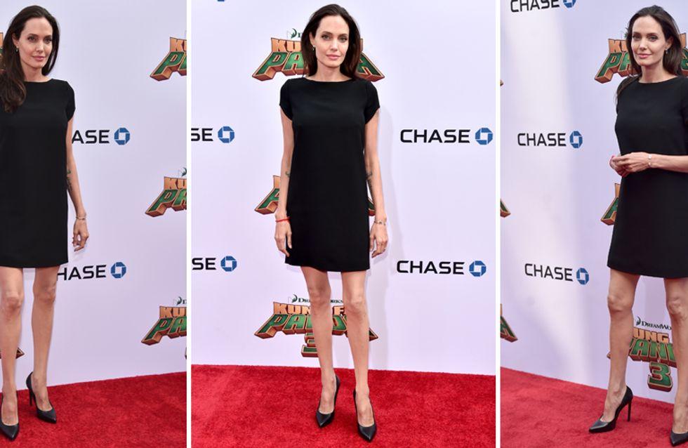 Angie, che hai fatto? La Jolie magrissima sul red carpet fa preoccupare i fan