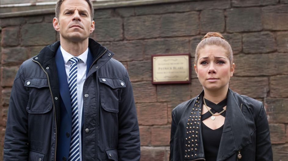 Hollyoaks 28/1 - Maxine is alarmed to find Patrick's will is on fire