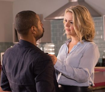 Hollyoaks 29/1 - Maxine is still spooked about hearing Patrick's voice