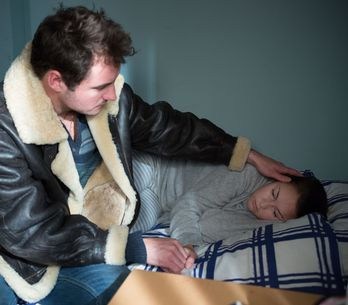 Eastenders 25/1 - A dishevelled Martin reels from the events of last week