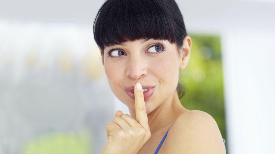 Schwanger, aber pssst! 5 Tipps, wie du dein süßes Geheimnis erstmal für dich behältst