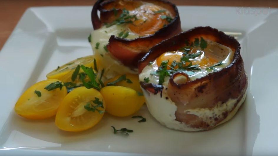 Das schnelle Frühstück frisch aus dem Ofen: So macht ihr leckere Bacon-Ei-Muffins
