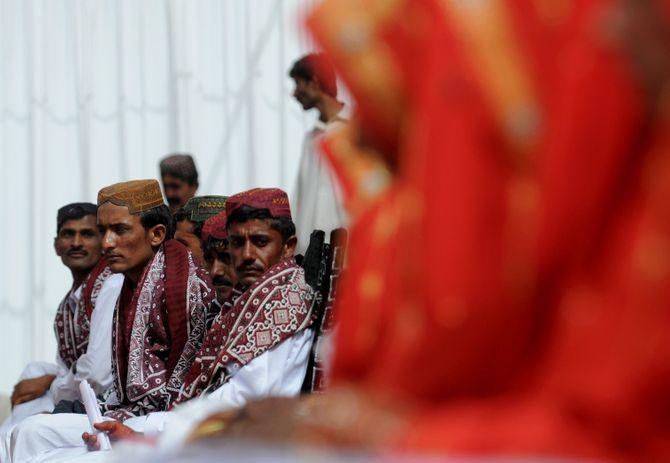 Des mariages au Pakistan