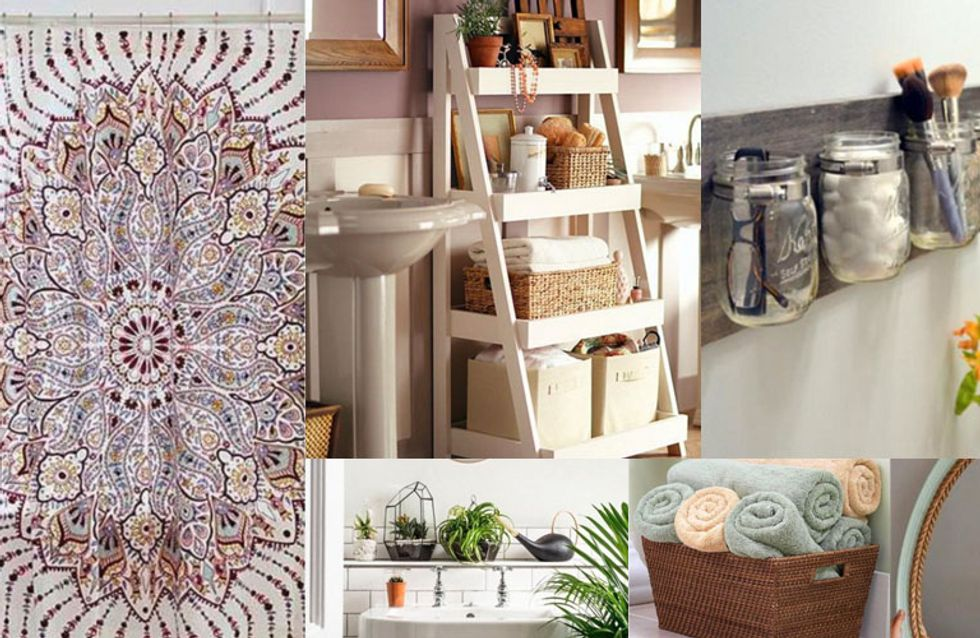 20 ideas originales para transformar tu baño