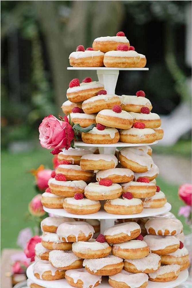 Tarta Donuts