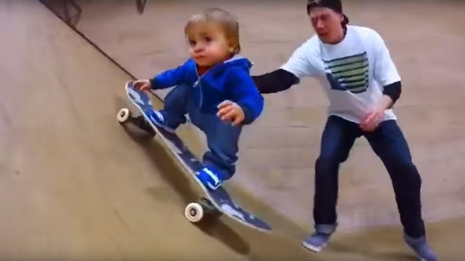 Il più giovane skateboarder del mondo