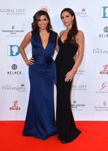 Eva Longoria et Victoria Beckham