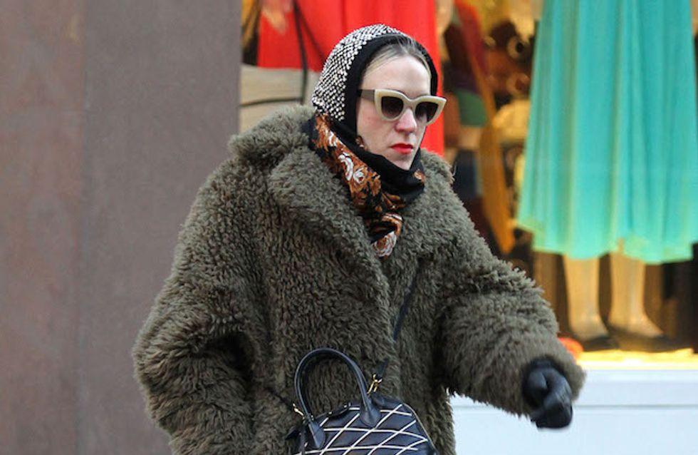 Chloë Sevigny, vestida de abuela, peor look de la semana