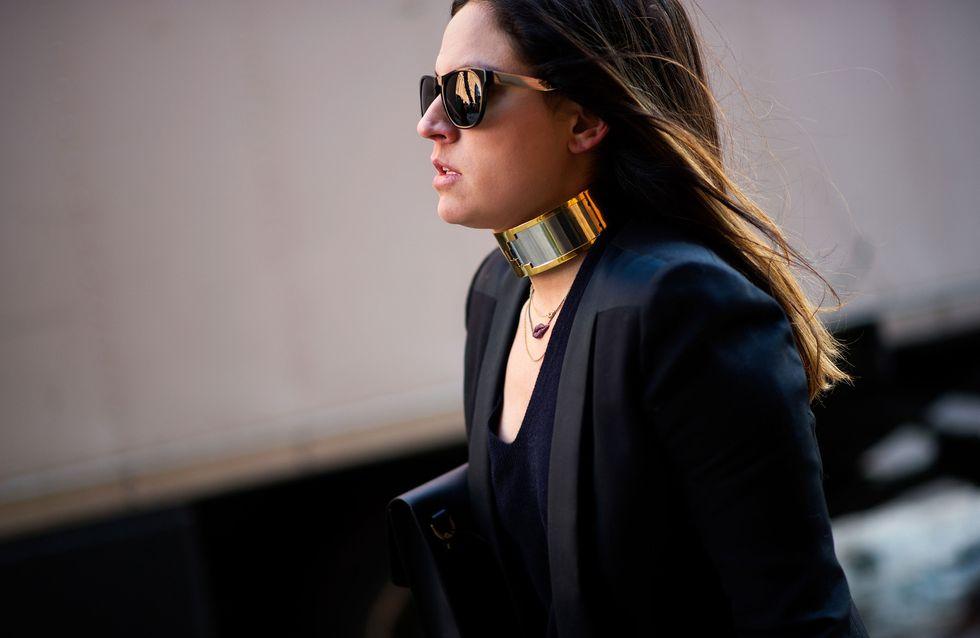 Sono tornate le collane a collare, provocazione della moda. E tu, le ami o le odi?