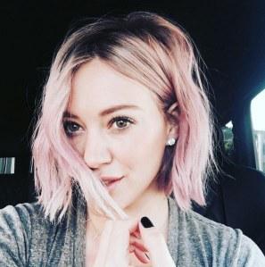 Hilary Duff et sa nouvelle coloration