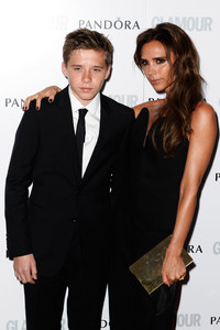 Victoria Beckham et son fils, Brooklyn