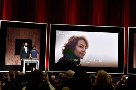 Charlotte Rampling est nommée aux Oscars 2016