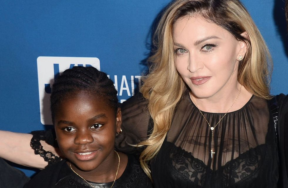 Le touchant geste de Madonna pour sa fille Mercy (Photo)