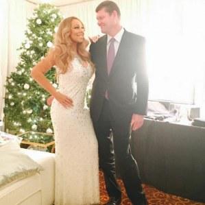 James Packer et Mariah Carey