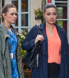 Hollyoaks 5/2 - Trevor is confused when DS Thorpe arrives to arrest him