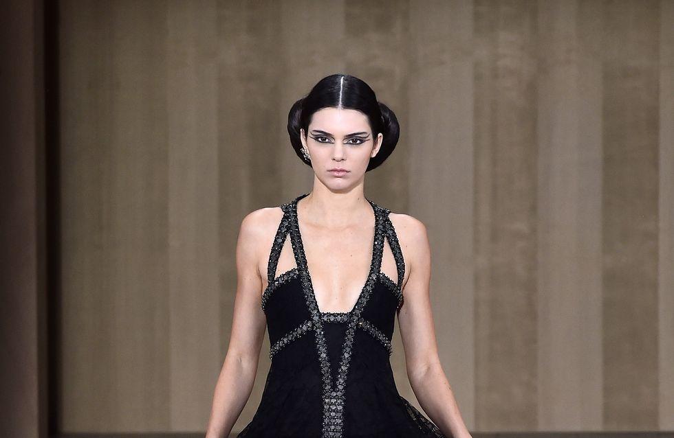 Kendall Jenner et les sœurs Hadid, mannequins stars du défilé Chanel