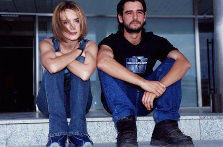 Antonio Hotelano y Eva Santolaria