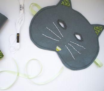 Tuto : Un masque de chat à faire soi-même !