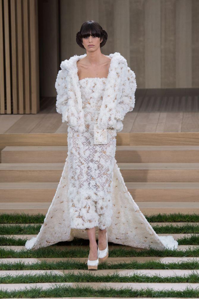 Abito da sposa Chanel primavera estate 2016
