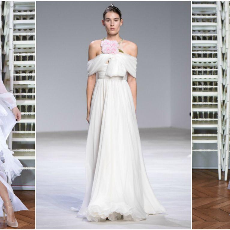 180e80b8bd5e Spose di primavera. Scopri gli abiti più belli dell alta moda e le tendenze  più amate