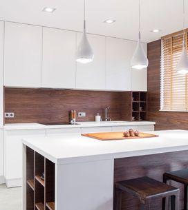 Cuando cocina y salón comparten estancia: ideas para organizar y amueblar