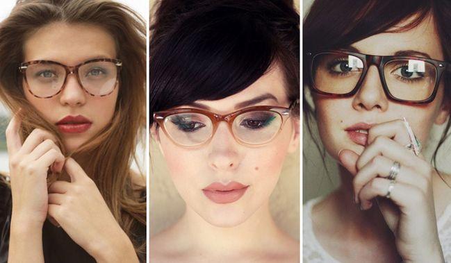 Tagli Di Capelli E Occhiali Acconciature A Prova Di Lenti