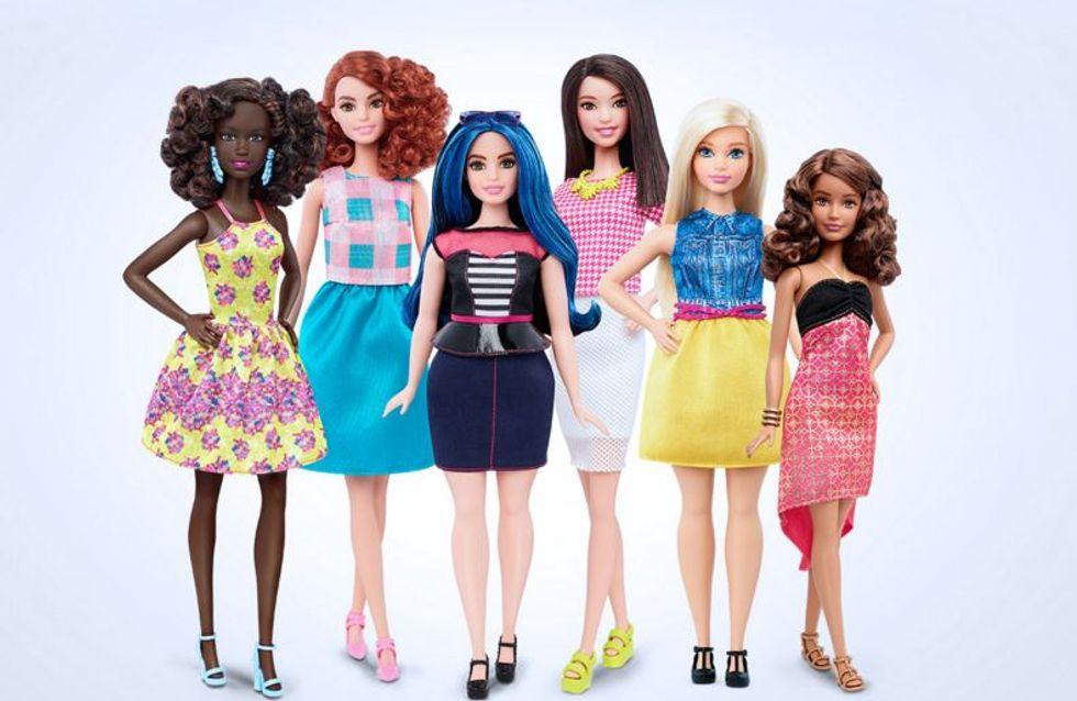 Barbie s'offre enfin des formes (Photos)