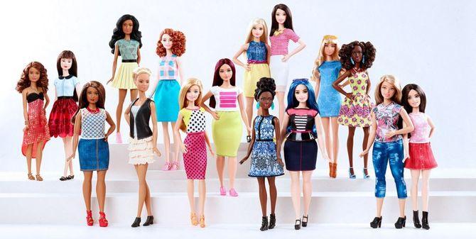 Les nouvelles silhouettes de Barbie
