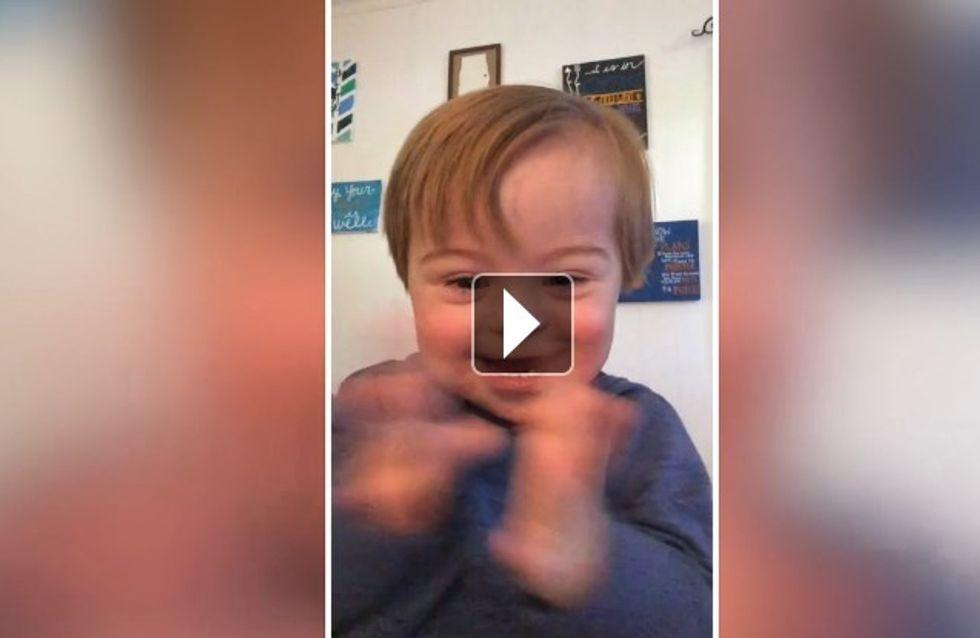 Les efforts de ce petit garçon pour prononcer la lettre W sont totalement adorables