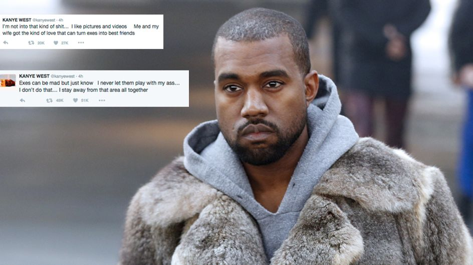 Kanye West Just Denied THAT Amber Rose Tweet And Twitter Is Finding It Absolutely Hilarious