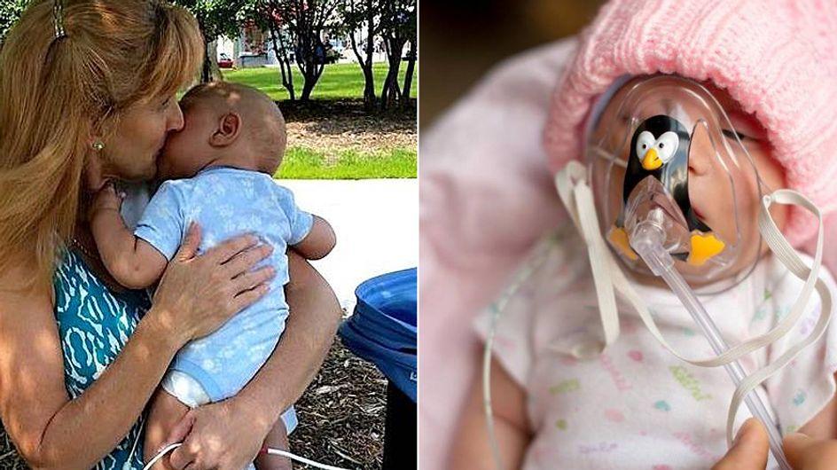 ¡Un acto increíble! Esta mujer adopta bebés que están a punto de morir para darles una vida digna