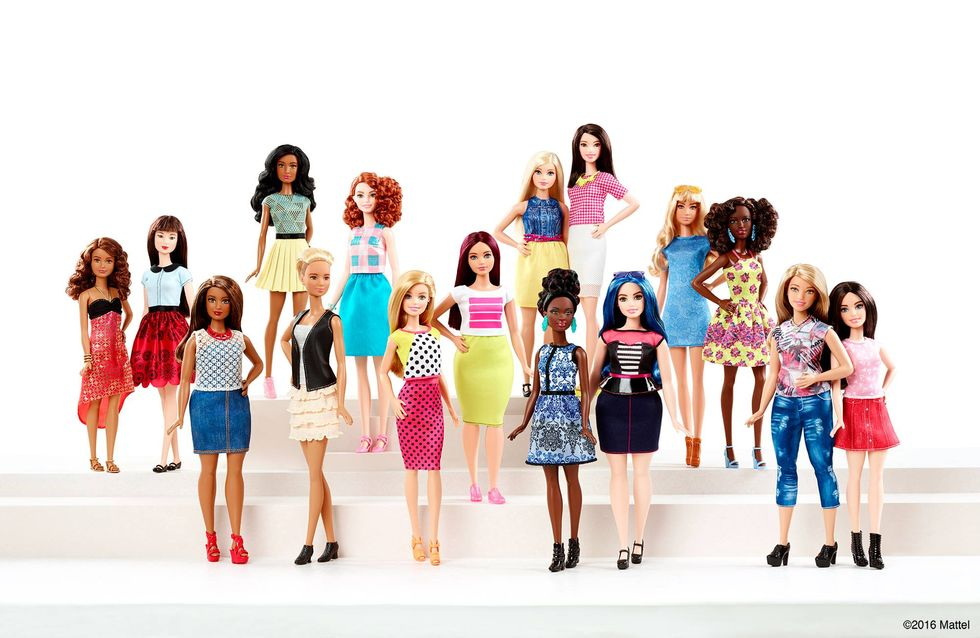 Ladies, Say Hello To Curvy Barbie