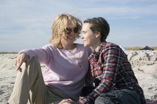Julianne Moore et Ellen Page