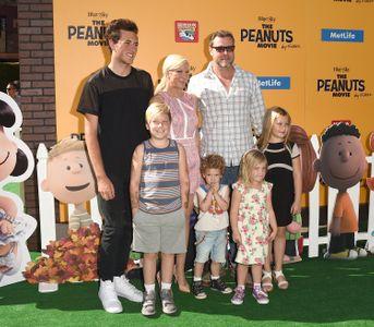 Tori Spelling, Dean McDermott et leurs enfants