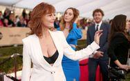 Le décolleté de Susan Sarandon affole le red carpet des SAG Awards (Photos)