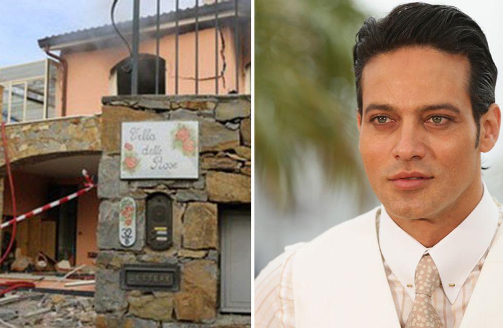 Gabriel Garko: esplode la villa in cui l'attore alloggiava a Sanremo
