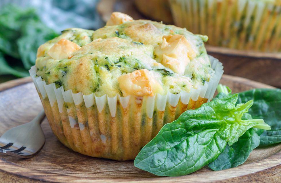 Muffins mal anders: 4 herzhafte Kuchen-Rezepte mit Gemüse, Käse & Co.