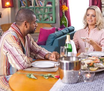 Hollyoaks 12/2 - Ben and Trevor are alone in The Loft