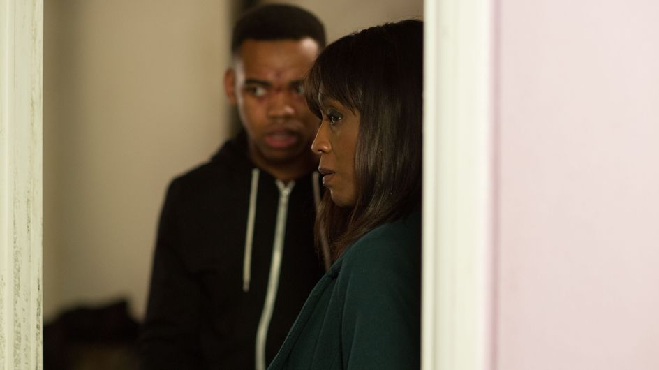 Eastenders 11/2 - Patrick decides to move back in with Denise