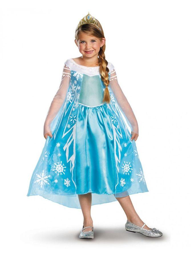 Costume di Carnevale per bambini: Elsa di Frozen