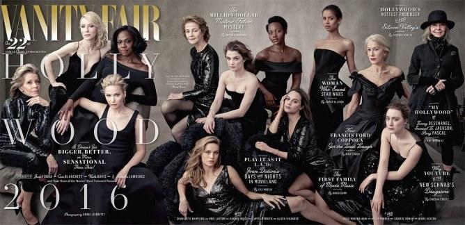 La couverture féminine du numéro spécial Hollywood de Vanity Fair